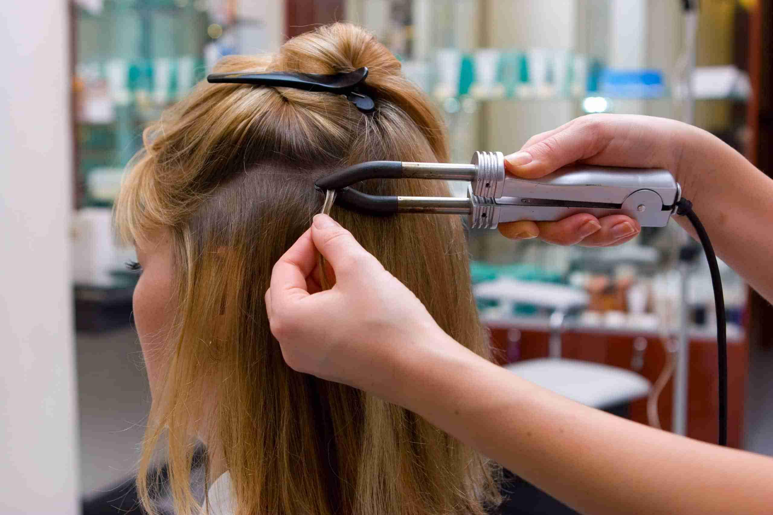 Keratin-Bond-Hair-Extensions